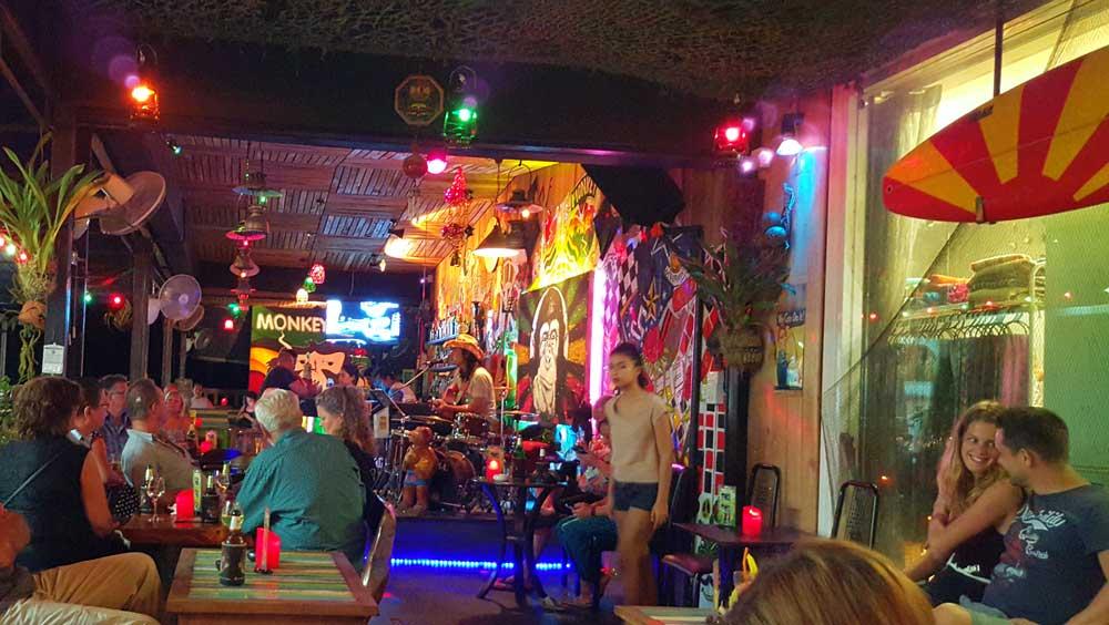 Monkey Bar in Khao Lak