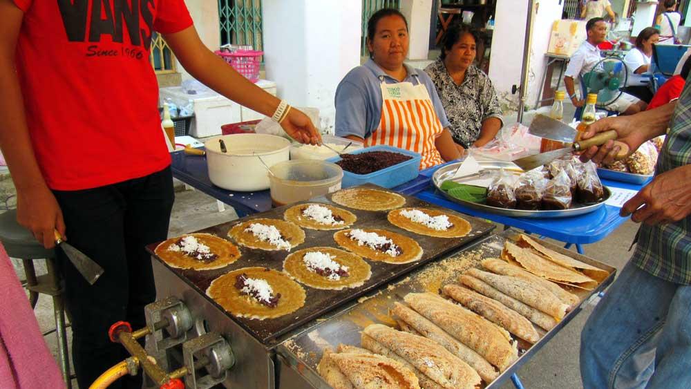 food vendor in Takua Pa