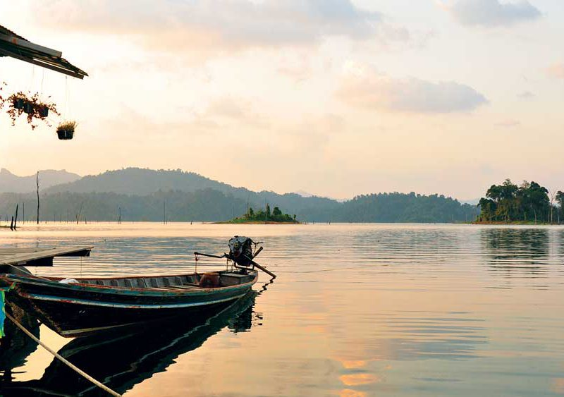 Lontail on the Cheow Lan Lake