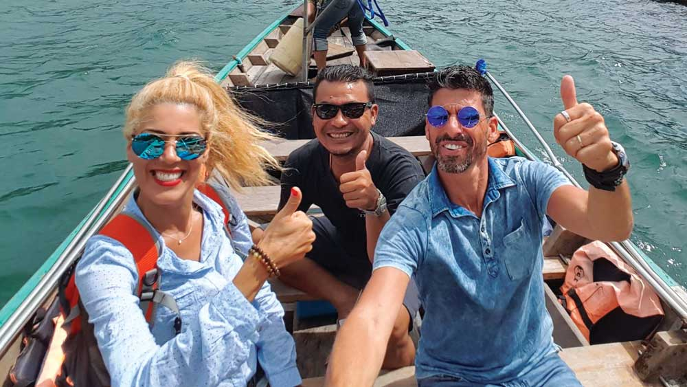 Lake exploration on a Khao Sok Tour