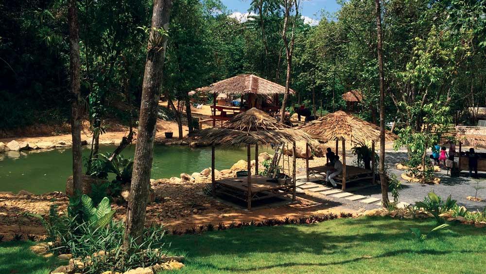 The elephant camp on this Khao Lak Tour