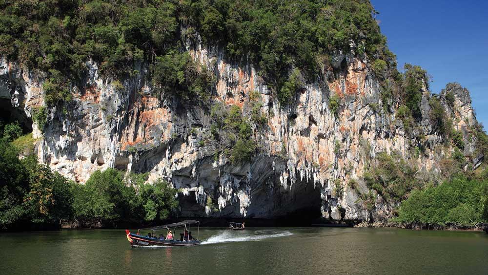 A longtail trip through Phang Nga Bay