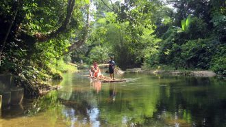 Rafting near Khao Lak