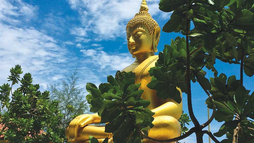 Buddha at the Tsunami Memorial Park