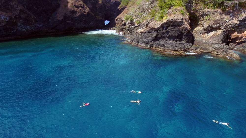 Snorkelling at Koh Bon