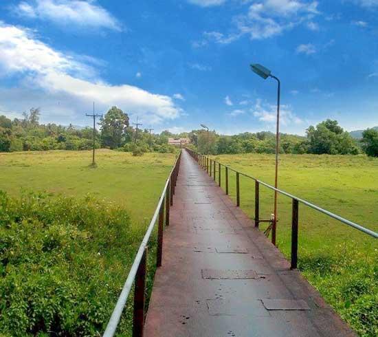 Bridge in Old Takua Pa Town