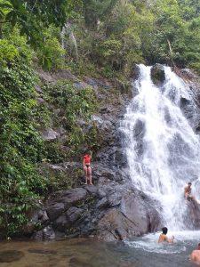 Sai Rung / Rainbow waterfall.