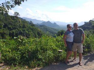 Beautiful Khao Sok viewpoint