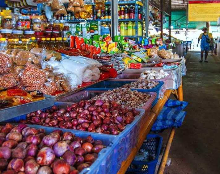Market near Khao Lak