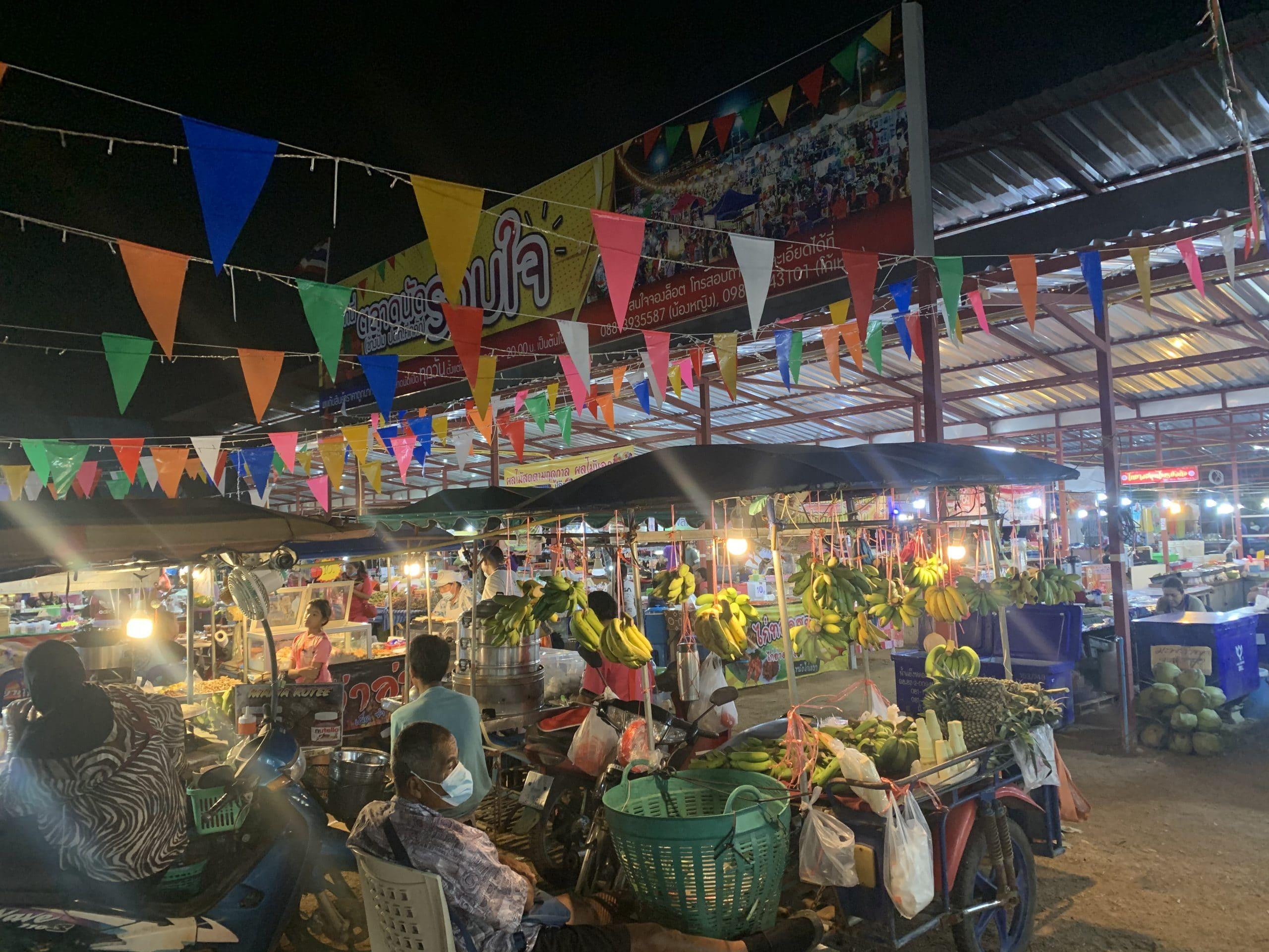 Khuk Khak evening market