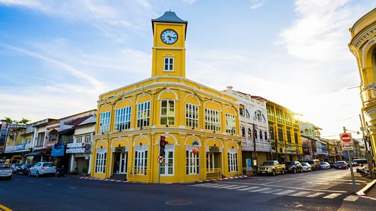 Phuket Old Town Colourful Corner
